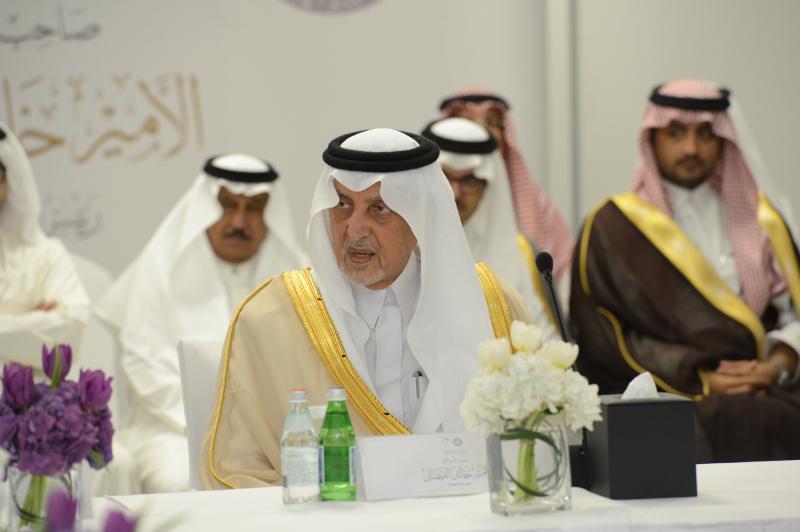 الأمير خالد الفيصل الرئيس الفخري لمنتدى الجوائز العربية يلتقي بأعضاء المنتدى